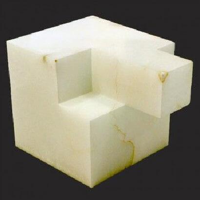 JORGE OTEIZA Conclusión B para Mondrian 1973
