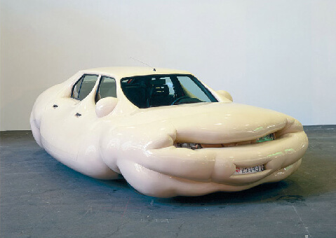 ERWIN WURM, Fat Cars, 2001–2005